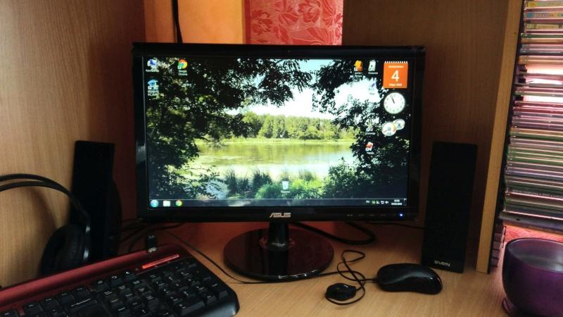 Продам монитор ASUS VS197DE LED TN 18.5, Black